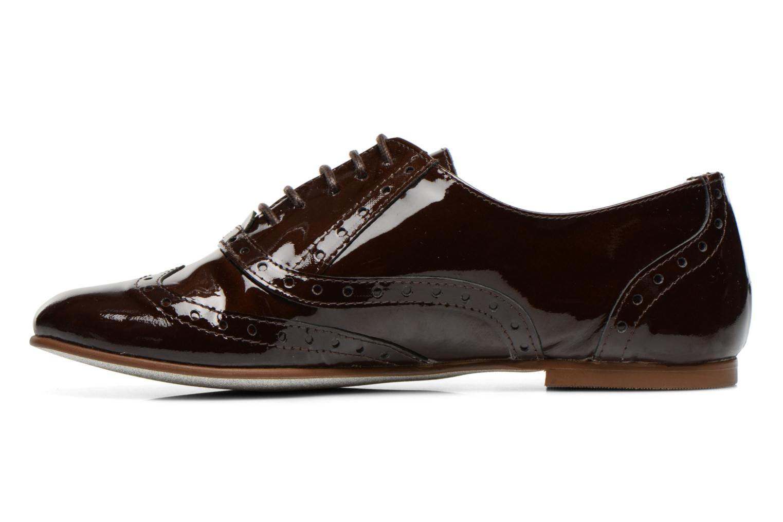 Chaussures à lacets Ippon Vintage Woody lux Marron vue face