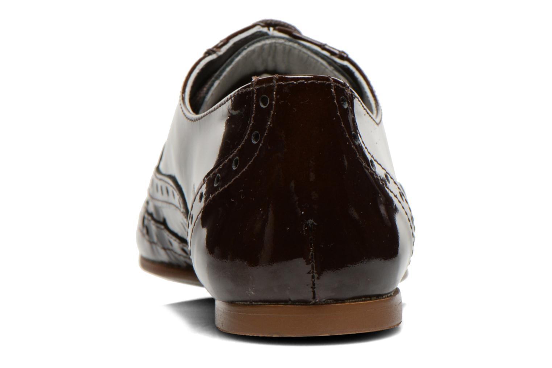 Chaussures à lacets Ippon Vintage Woody lux Marron vue droite