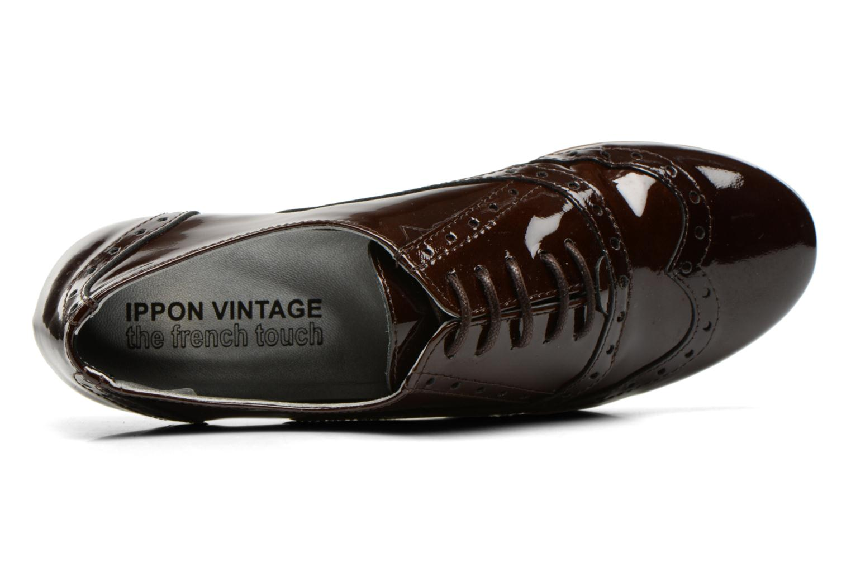 Chaussures à lacets Ippon Vintage Woody lux Marron vue gauche