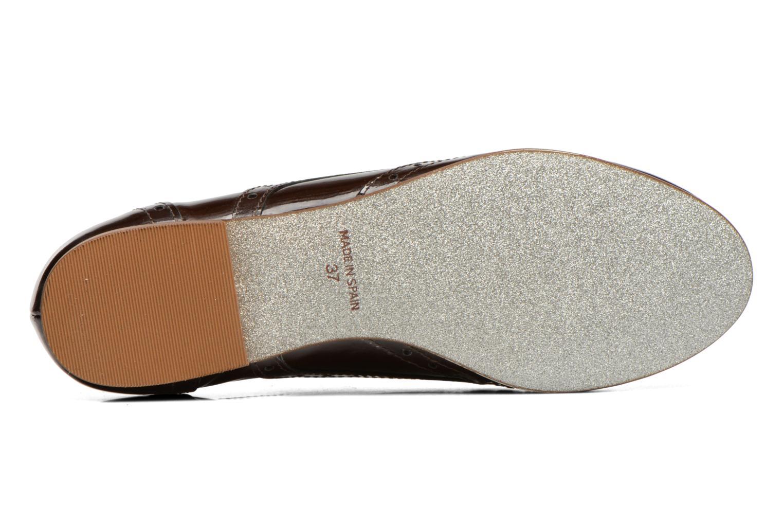 Chaussures à lacets Ippon Vintage Woody lux Marron vue haut