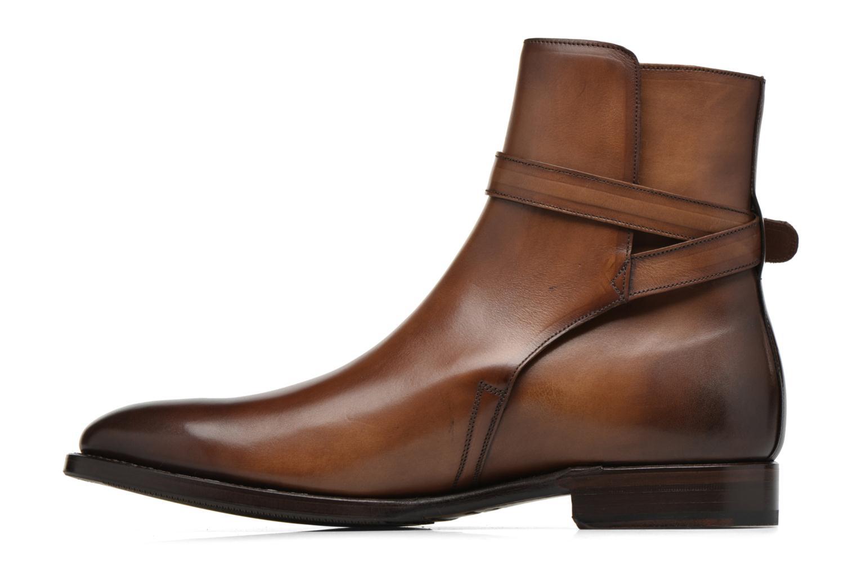 Bottines et boots Marvin&Co Luxe Wetrok - Cousu Goodyear Marron vue face