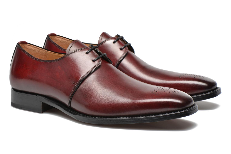 Chaussures à lacets Marvin&Co Luxe Wedyf Bordeaux vue 3/4
