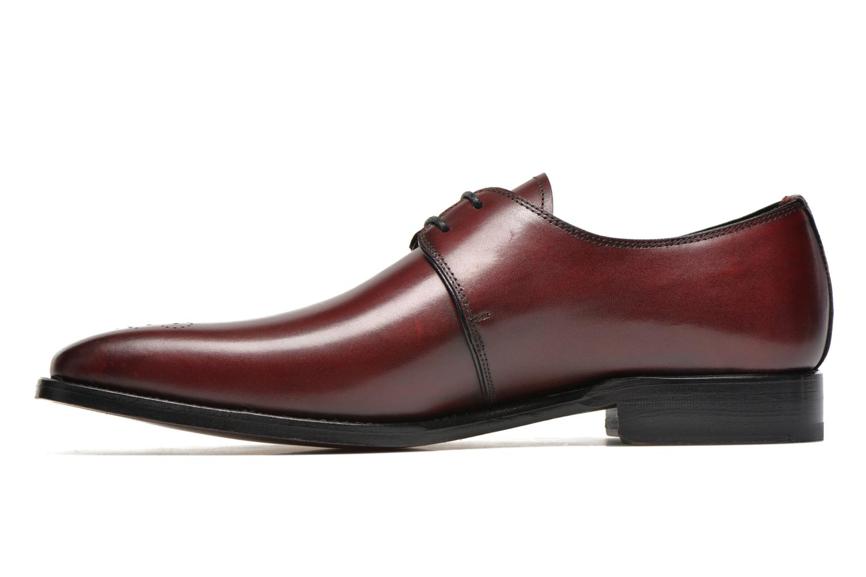 Chaussures à lacets Marvin&Co Luxe Wedyf Bordeaux vue face