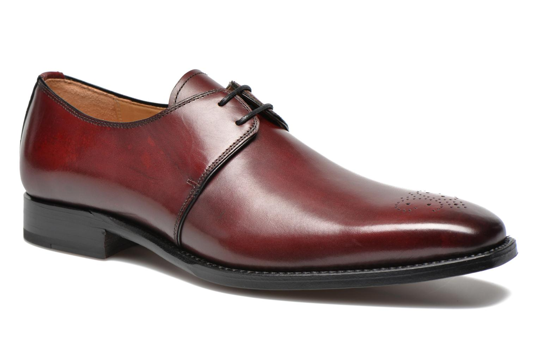 Chaussures à lacets Marvin&Co Luxe Wedyf Bordeaux vue détail/paire