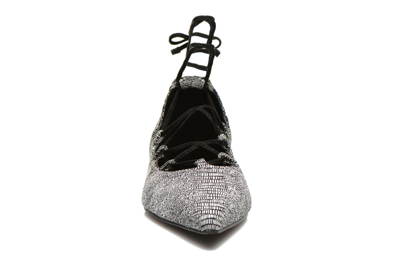 Ballerines SENSO Gia III Gris vue portées chaussures
