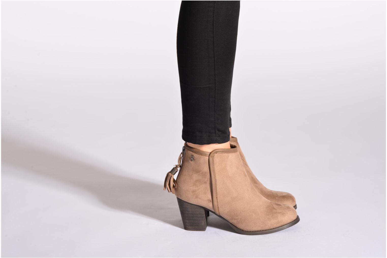 Bottines et boots Refresh Kim-61180 Noir vue bas / vue portée sac