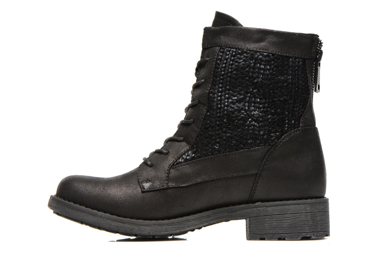 Bottines et boots Refresh Bianca-61673 Noir vue face