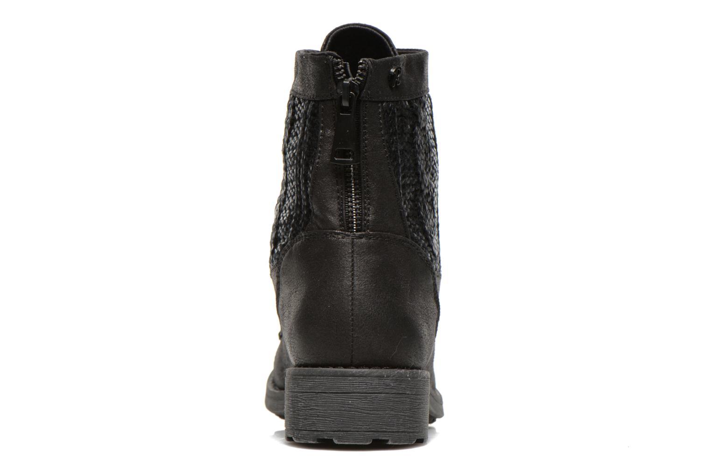 Bottines et boots Refresh Bianca-61673 Noir vue droite