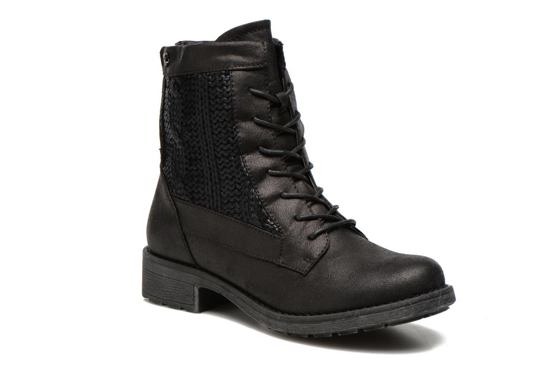Bottines et boots Refresh Bianca-61673 Noir vue détail/paire