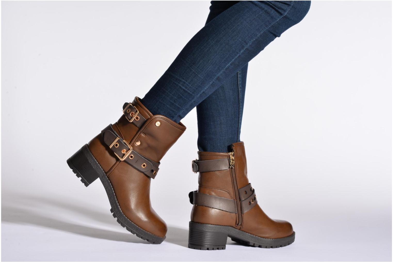 Bottines et boots Xti Alissa-28543 Marron vue bas / vue portée sac