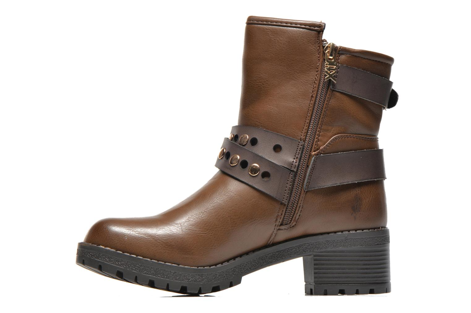 Ankle boots Xti Alissa-28543 Brown front view
