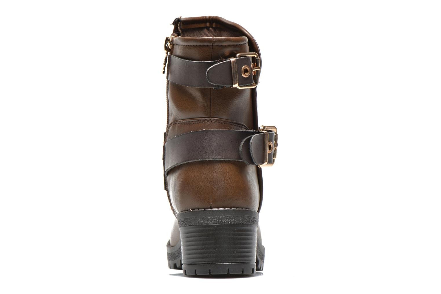 Ankle boots Xti Alissa-28543 Brown view from the right