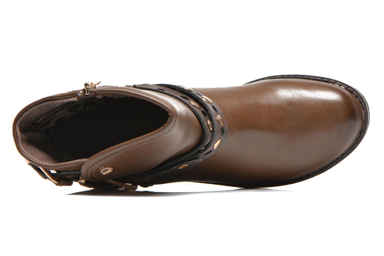 Stiefeletten & Boots Xti Alissa-28543 braun ansicht von links