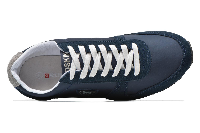 Sneaker Redskins Disco blau ansicht von links