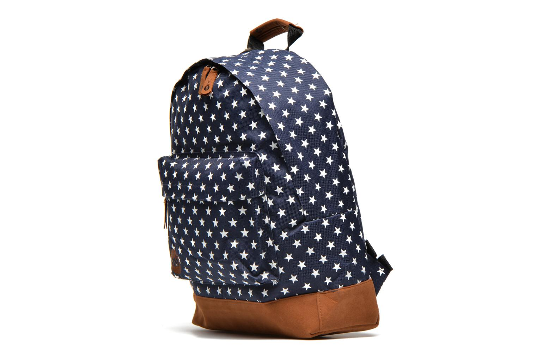 Mochilas Mi-Pac All stars Backpack Azul vista del modelo