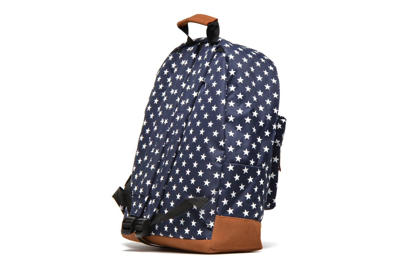 Mochilas Mi-Pac All stars Backpack Azul vista lateral derecha