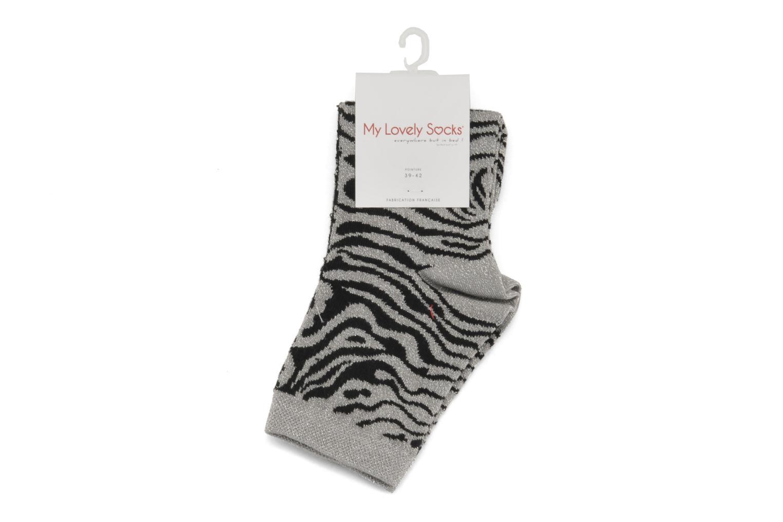 Socken & Strumpfhosen My Lovely Socks Lisa grau ansicht von hinten
