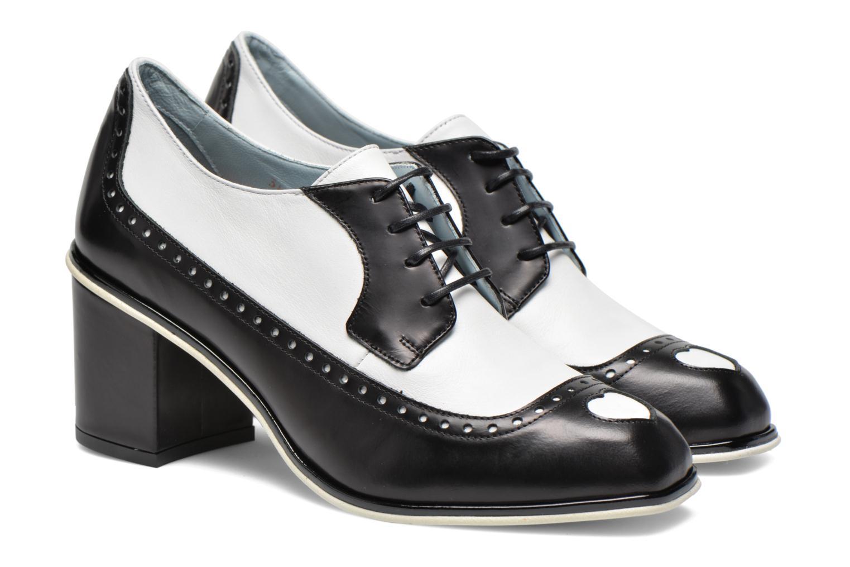 Zapatos con cordones Apologie Fairy Negro vista 3/4