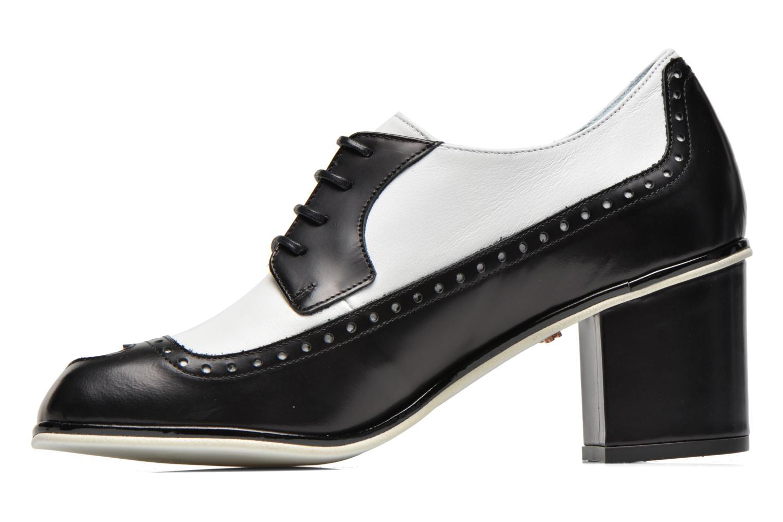 Zapatos con cordones Apologie Fairy Negro vista de frente
