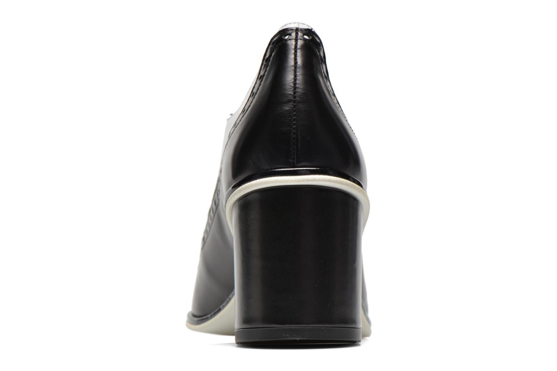 Zapatos con cordones Apologie Fairy Negro vista lateral derecha