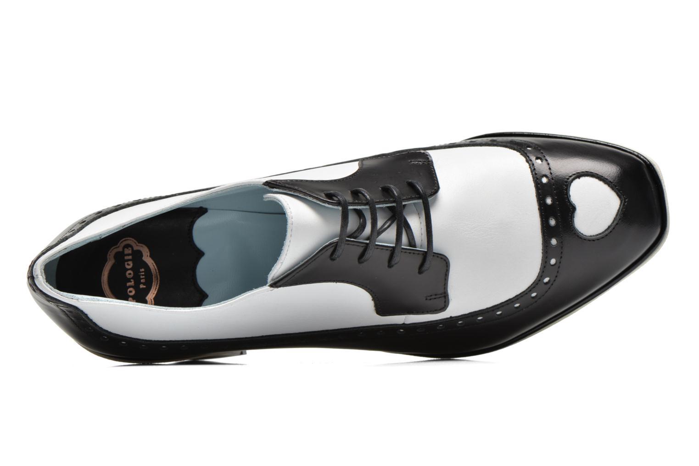 Chaussures à lacets Apologie Fairy Noir vue gauche