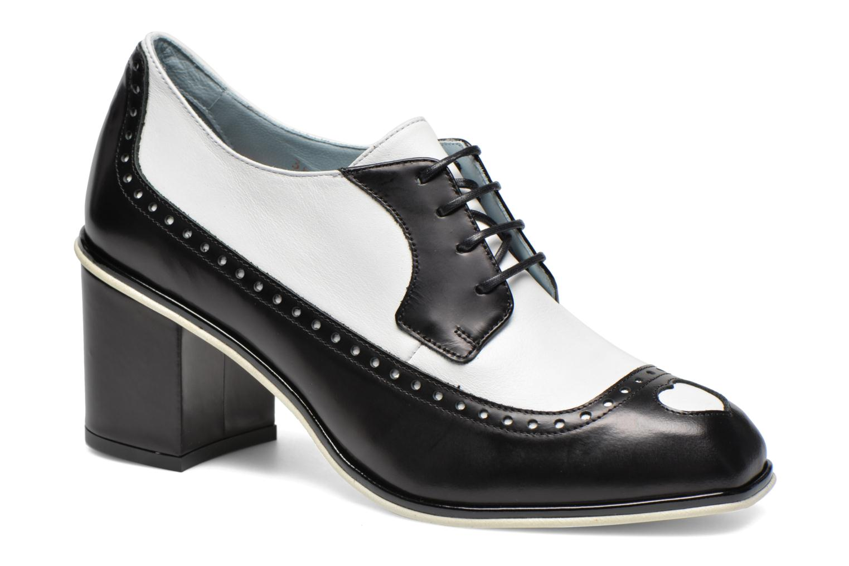 Chaussures à lacets Apologie Fairy Noir vue détail/paire