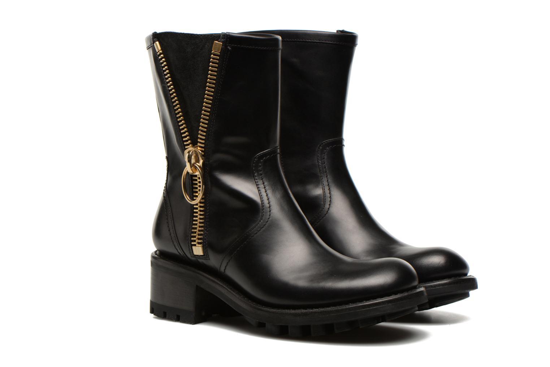 Bottines et boots Free Lance Justy 4 mid bag zip Noir vue 3/4