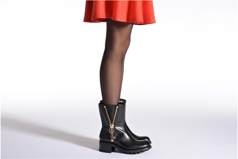 Bottines et boots Free Lance Justy 4 mid bag zip Noir vue bas / vue portée sac