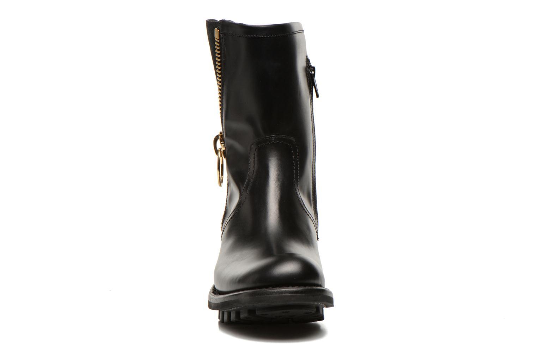 Bottines et boots Free Lance Justy 4 mid bag zip Noir vue portées chaussures