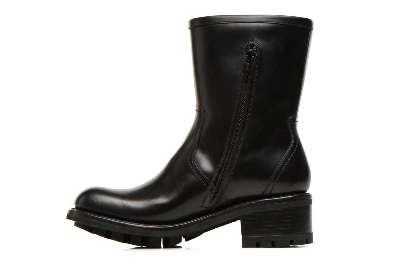 Bottines et boots Free Lance Justy 4 mid bag zip Noir vue face