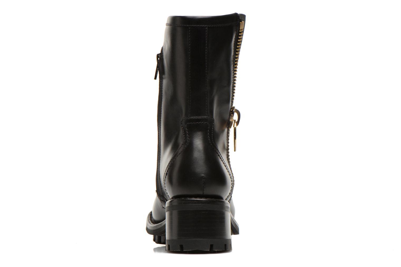 Bottines et boots Free Lance Justy 4 mid bag zip Noir vue droite