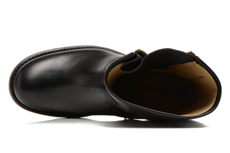 Bottines et boots Free Lance Justy 4 mid bag zip Noir vue gauche