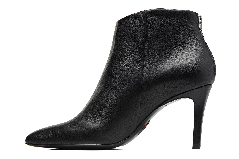 Stiefeletten & Boots Free Lance Itlys 7 zip back boot schwarz ansicht von vorne