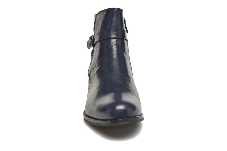 Bottines et boots PintoDiBlu Botania Bleu vue portées chaussures