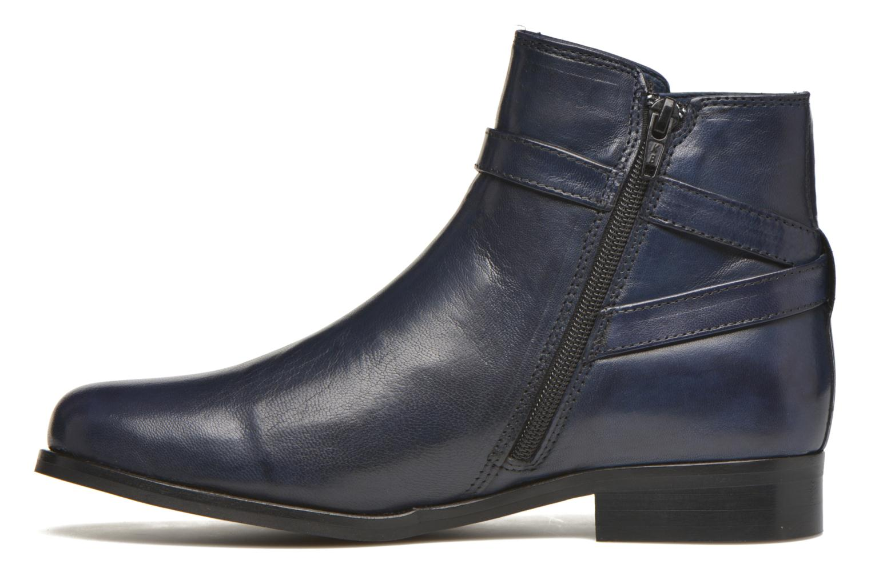Bottines et boots PintoDiBlu Botania Bleu vue face