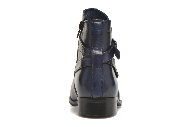 Bottines et boots PintoDiBlu Botania Bleu vue droite