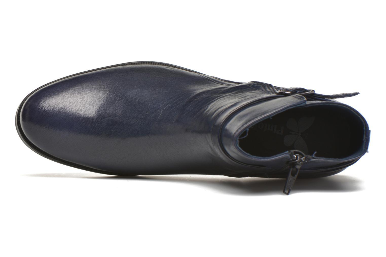 Bottines et boots PintoDiBlu Botania Bleu vue gauche