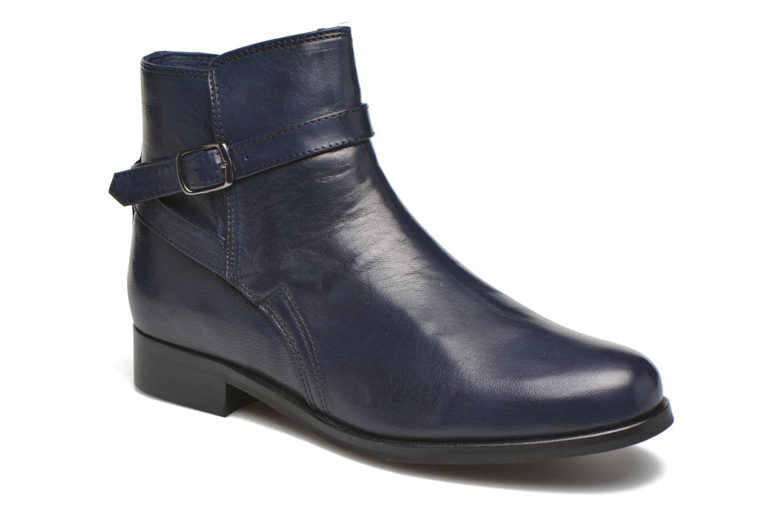 Bottines et boots PintoDiBlu Botania Bleu vue détail/paire