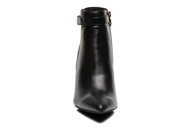 Bottines et boots Divine Factory Potchi Noir vue portées chaussures