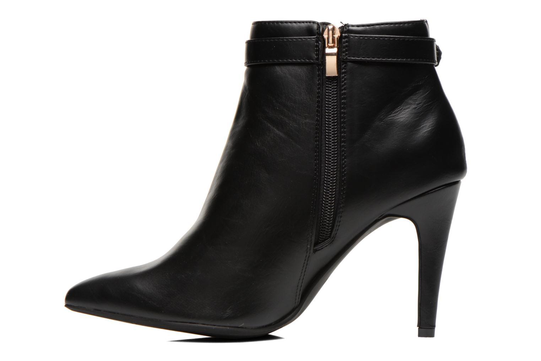 Bottines et boots Divine Factory Potchi Noir vue face