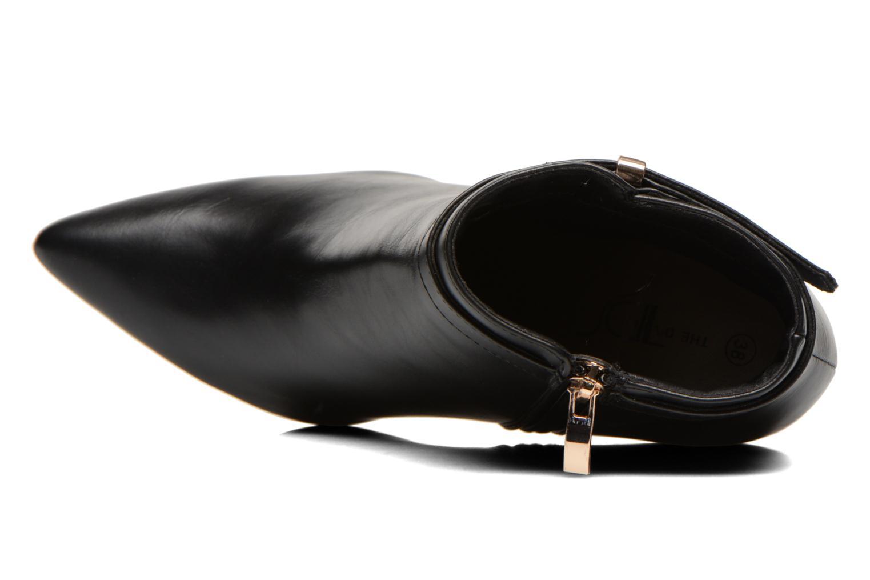 Bottines et boots Divine Factory Potchi Noir vue gauche