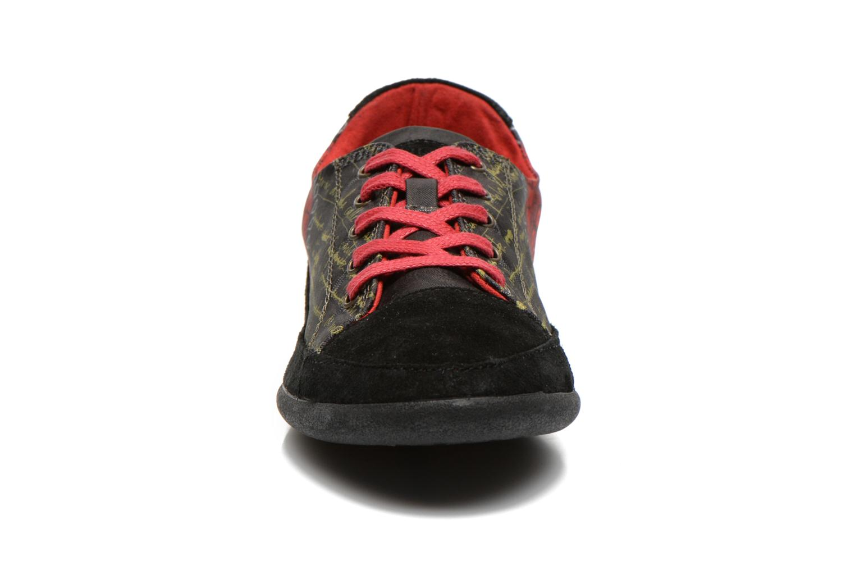 Baskets Desigual Happy Luna Multicolore vue portées chaussures