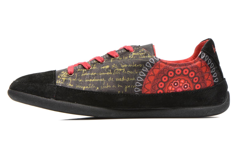 Sneaker Desigual Happy Luna mehrfarbig ansicht von vorne