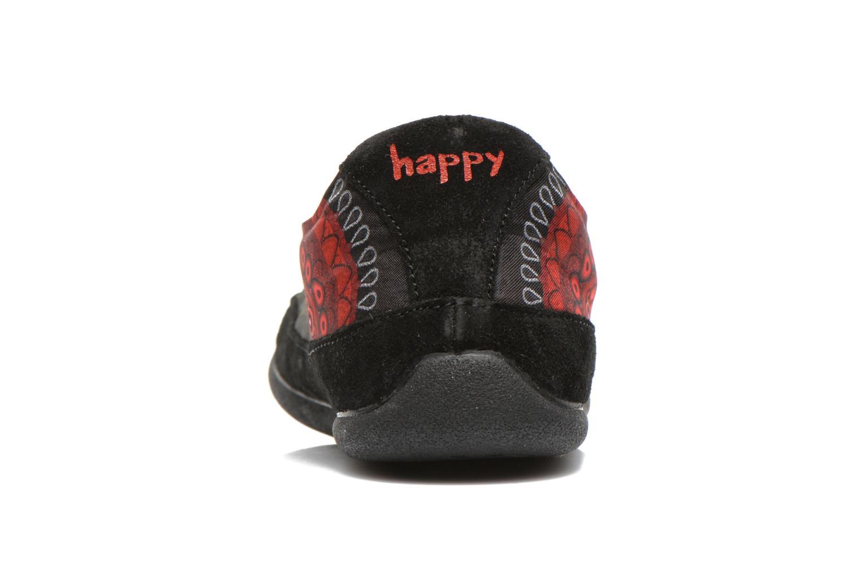 Sneaker Desigual Happy Luna mehrfarbig ansicht von rechts