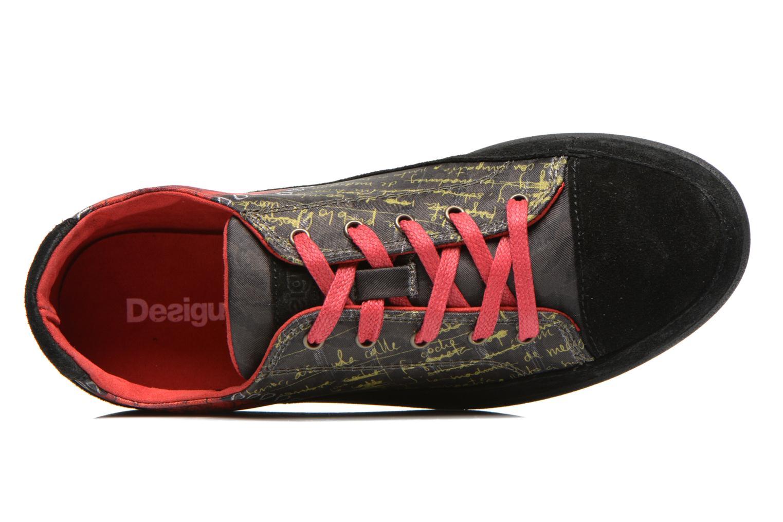 Sneaker Desigual Happy Luna mehrfarbig ansicht von links