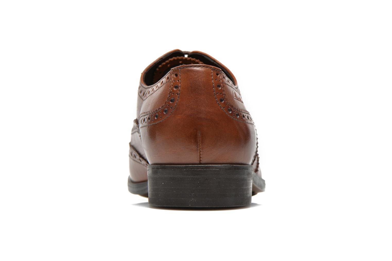 Scarpe con lacci Clarks Banfield Limit Marrone immagine destra