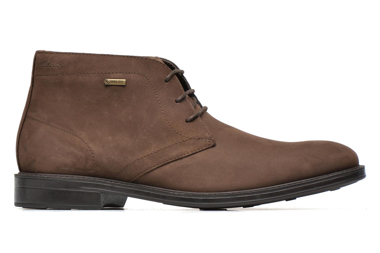 Chaussures à lacets Clarks Chilver Hi GTX Marron vue derrière
