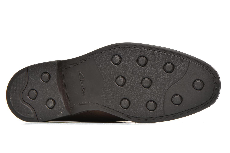 Chaussures à lacets Clarks Chilver Hi GTX Marron vue haut