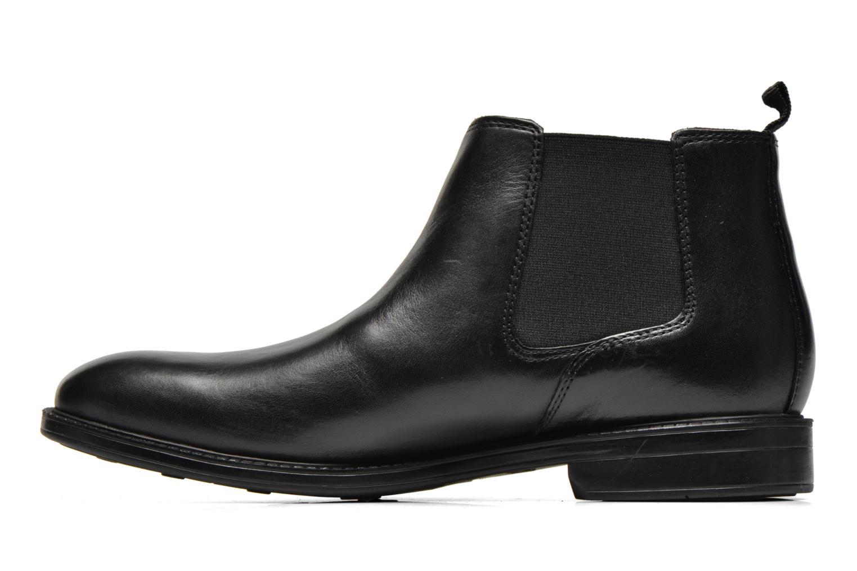 Boots en enkellaarsjes Clarks Chilver Top Zwart voorkant