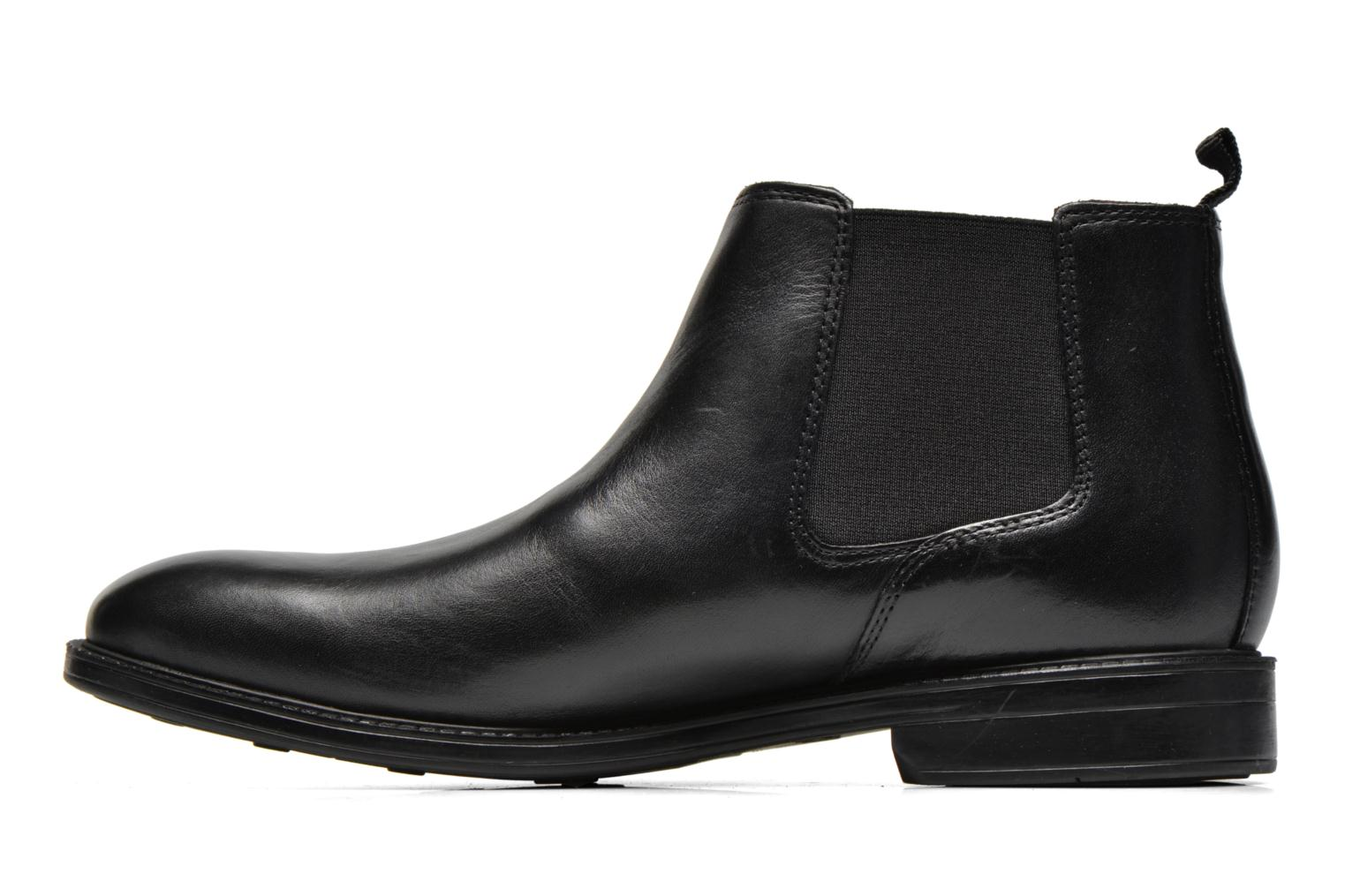 Black Clarks Clarks Top Clarks Top Chilver Chilver leather Chilver leather Black Top Black qXw8nUa6